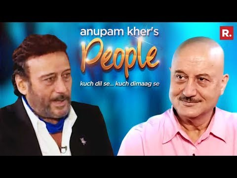 Anupam Kher Talks To Jackie Shroff