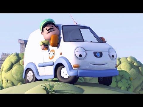 Олли Веселый грузовичок - Мультфильм про машинки - Серия 19 - Не о чем беспокоиться (Full HD)