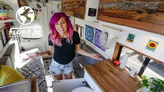 YOUNG WOMAN Starts Full time VAN LIFE