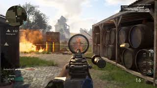 Call of Duty®: WWII 56 kills with a Bar no quick  draw needed