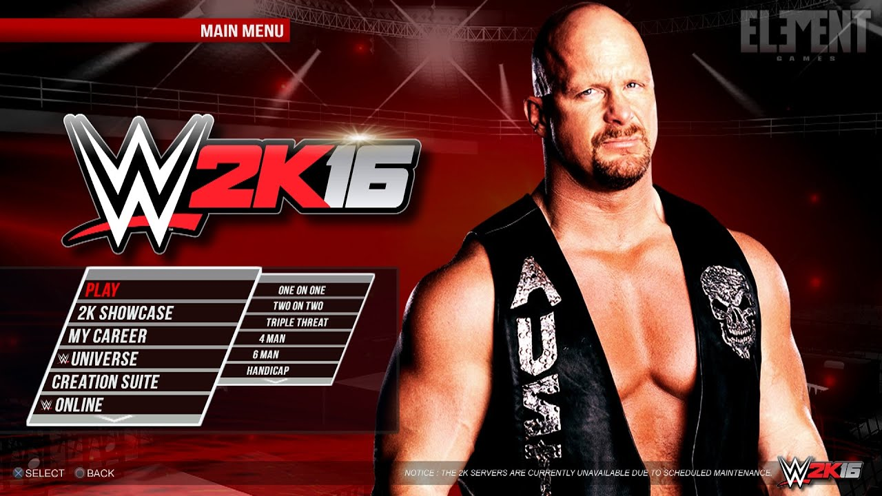 Download WWE 2K16 PS3 Games