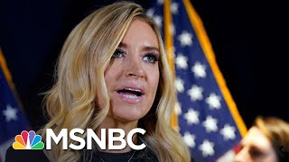 Fox News Cuts Away From Kayleigh McEnany's Baseless Claims Of Voter Fraud | Deadline | MSNBC