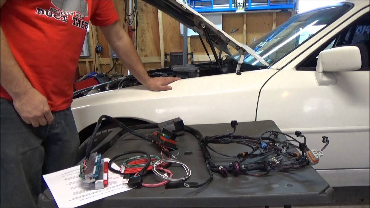 Plug And Play Lsx Harness Ecu Combo By Jsrp Youtube Gm 3800 Standalone Wiring