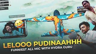 Leloooo Pudinaahhh Aaahhh Funniest All Mic Bakchodi With H¥DRA   GURU
