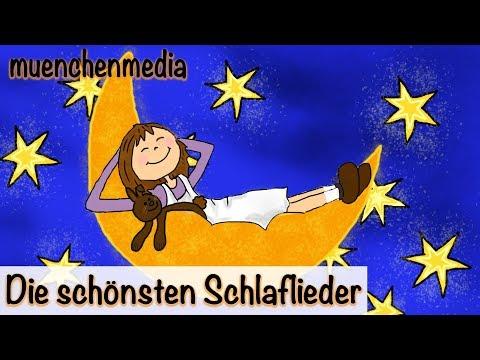 Die schönsten Schlaflieder - Video Mix - Kinderlieder deutsch | Schlaflieder deutsch - muenchenmedia