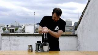 Gwilym Davies Demonstrating the Aeropress Coffee Maker thumbnail