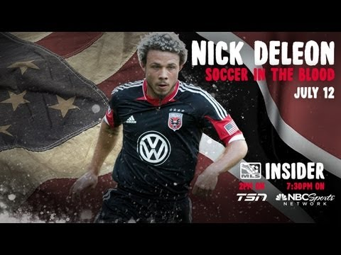 D.C. United's Nick DeLeon has Soccer in his Blood | MLS Insider, Episode 4
