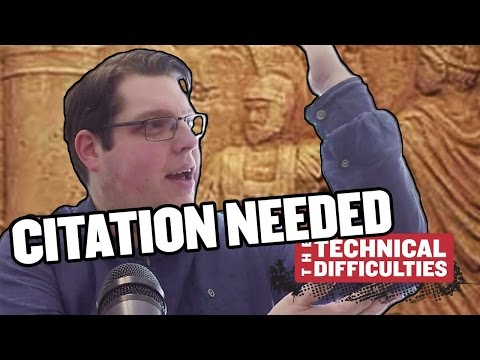 The Hydraulic Telegraph and Latin Grease: Citation Needed 5x01 thumbnail