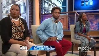They used to call him a dancer...Now they call him daddy! | The Maury Show