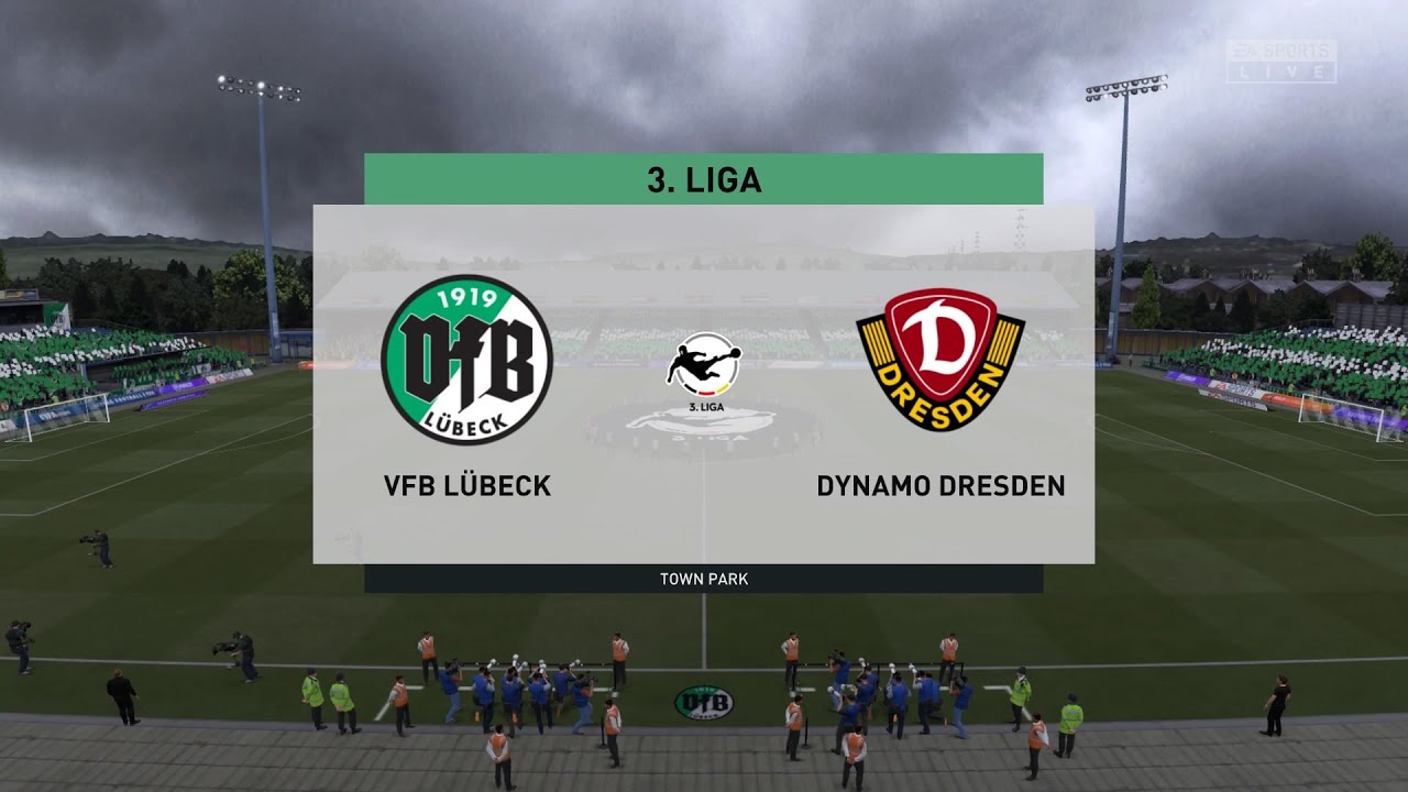 Fifa 21 Vfb Lubeck Vs Dynamo Dresden Germany 3 Liga 17 10 2020 1080p 60fps Youtube
