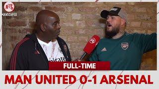 Man United 0-1 Arsenal | We BULLIED Man Utd! (Buzzing DT)
