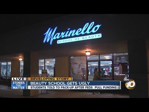 Marinello beauty schools may close