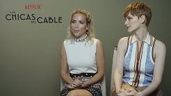 Ana Polvorosa y Ana Fernández presentan 'Las Chicas del Cable'
