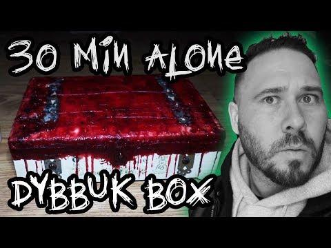 (UNCUT) 30 Min Alone With DYBBUK BOX **TERRIFYING**   OmarGoshTV