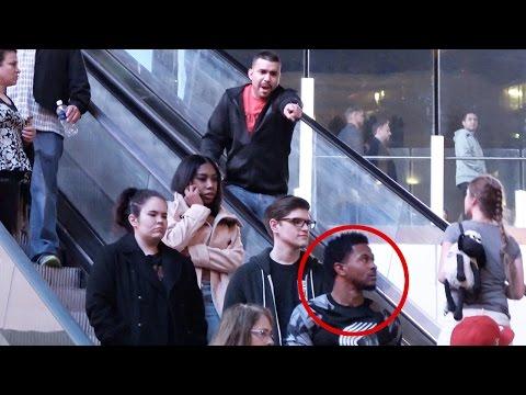 Black Guy Stole My Wallet On Escalator In Las Vegas!!!