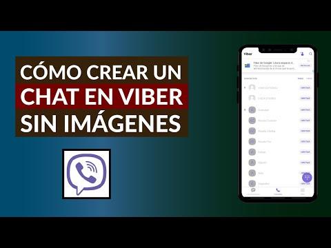 Cómo Crear un Chat en Viber donde no se Pueda Descargar Imágenes