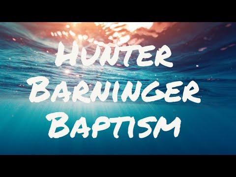 Hunter Barninger Baptism (10/4/2020)