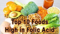 Folic Acid foods – Top 10 Foods High in Folic Acid