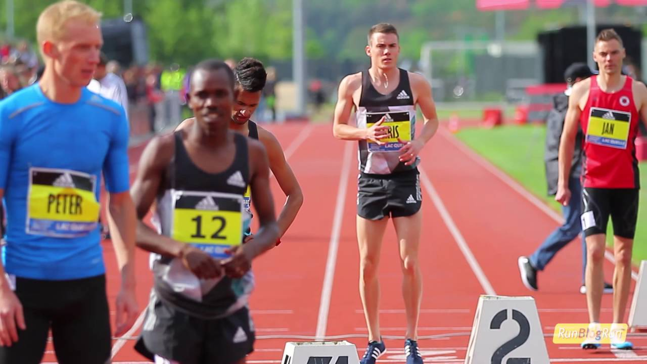 RunBlogRun Interviews Chris O'Hare @ adidas Boost Athletics Meeting