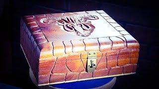 Carving a Cigar Box  - House Greyjoy - Game of Thrones Inspired