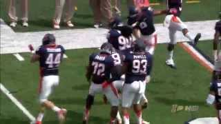 Illinois Football Spring Game Highlights 4/12/14