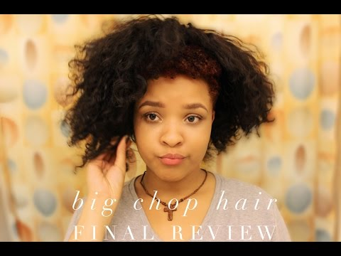 Big Chop Hair Final Review | Protective Hair Care