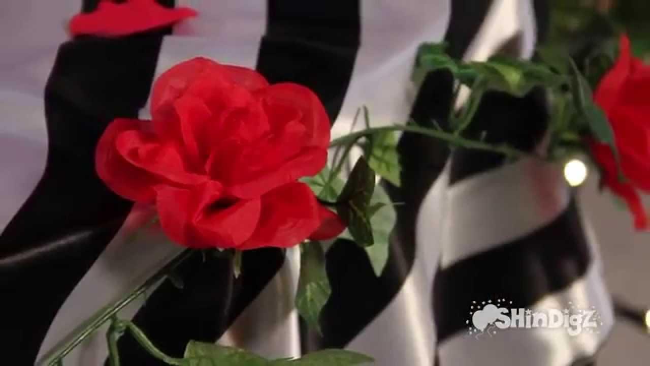 Party Supplies Ivy Rose Garland Silk Flowers Shindigz