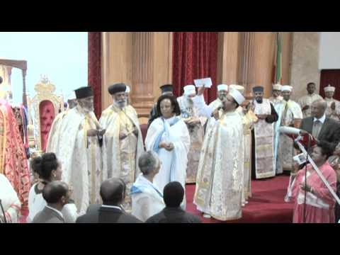 Virgin Mary Ethiopian Orthodox Cathedral In Los Angeles Inauguration Key Ceremony