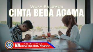 Vicky Salamor - Cinta Beda Agama | Lagu Ambon Viral | Lirik Dan Terjemahannya