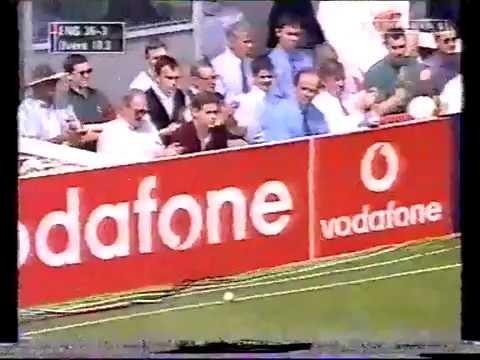Essex V England World Cup Cricket Warm Up match 1999