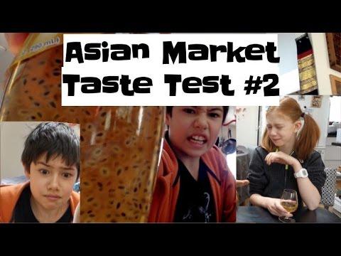 Ginseng Root? || Asian Market Taste Test #2