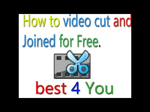 How to joined or cut a Video For Free ( Hindi - Urdu).