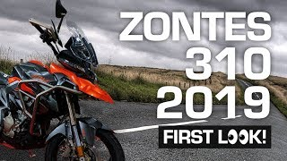 2019 Zontes 310 Range *FIRST LOOK* - Tourer, Sports and Adventurer!