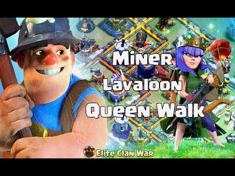 HaNoi Royal Win Streak 52 | Queen Walk Miners, Laloon 3 Stars Th12 Strategy 2019 #HNR