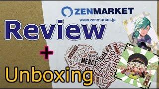 Japan Proxy Zenmarket Review + Anime Goods Unboxing