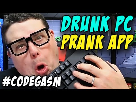 Programming Drunk PC prank application in C# .NET : #Codegas