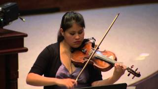Recital de violín y piano - 20 Jul 2015 - Bloque 2