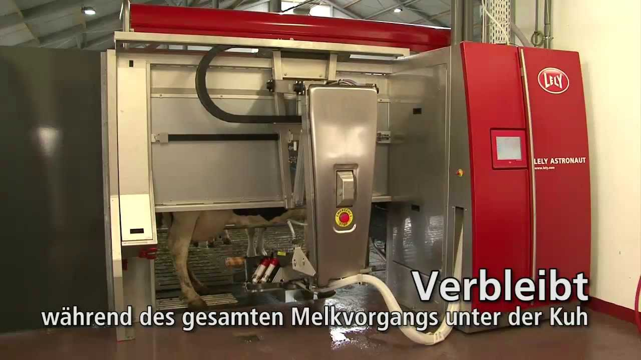 Lely Astronaut A4 - Milking robot arm (German)