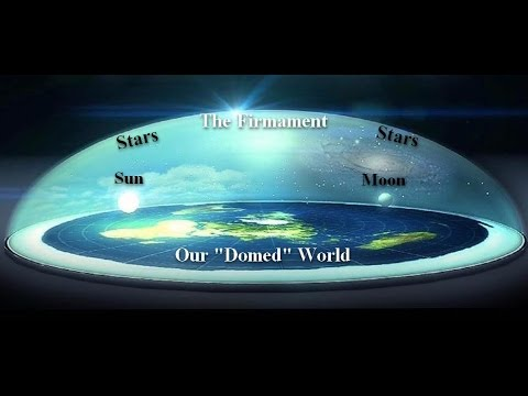 3d World Globe Wallpaper Flat Earth Firmament Our Dome Covered Snow Globe World