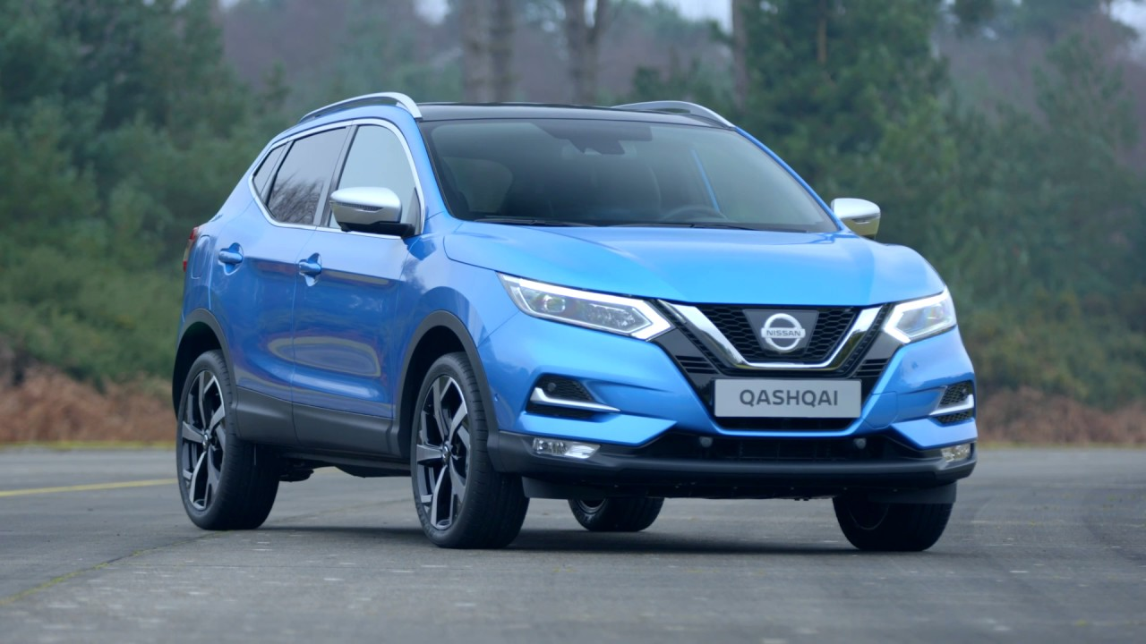 2017 nissan qashqai facelift exterior b roll youtube. Black Bedroom Furniture Sets. Home Design Ideas