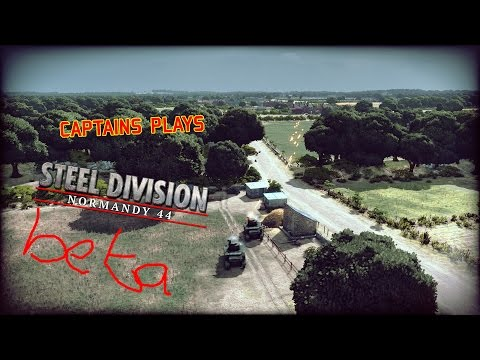 Steel Division: Normandy 44 Beta.. Twitch stream