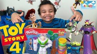 Play-Doh   Disney/Pixar Toy Story 4  Buzz Lightyear Set toys review!