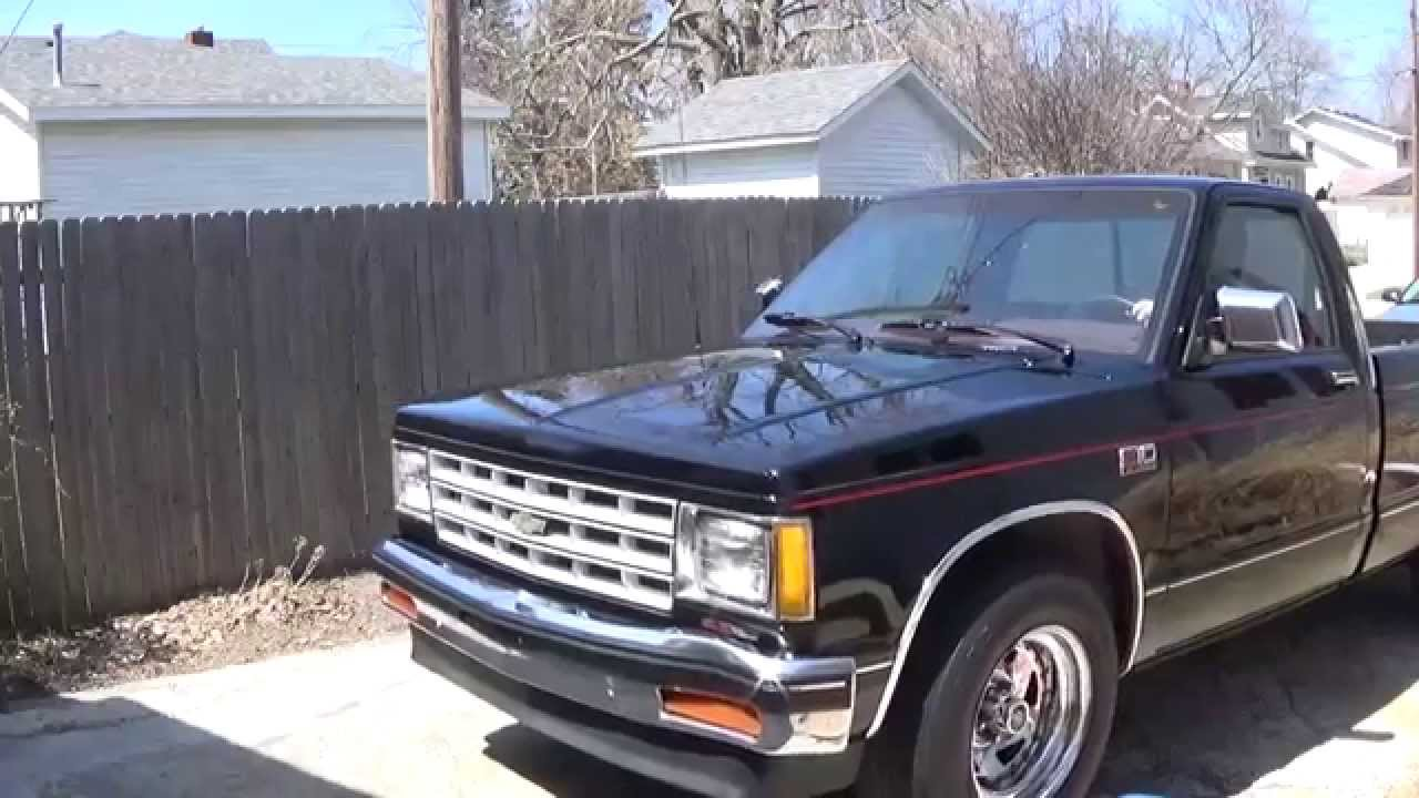 All Chevy 1989 chevy : Classic 1989 Chevy S10 - YouTube