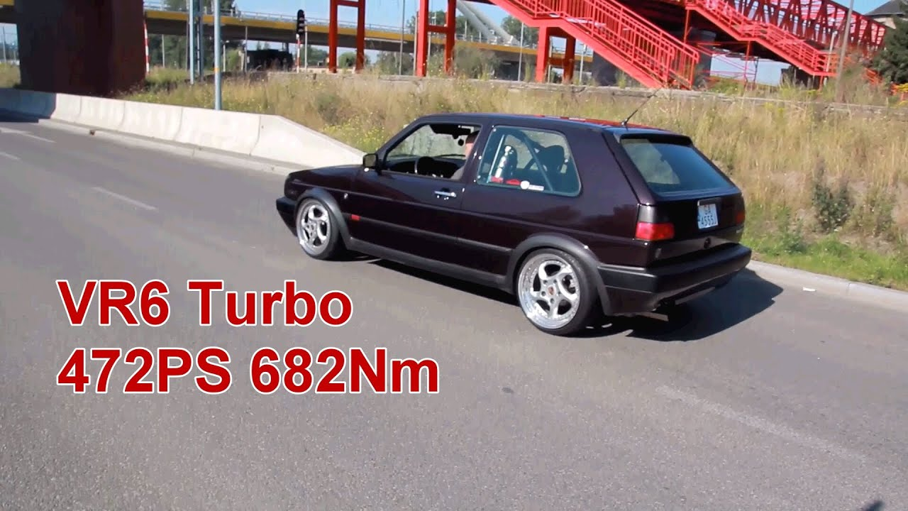 golf mk2 vr6 turbo 472ps 682 nm power test d youtube. Black Bedroom Furniture Sets. Home Design Ideas