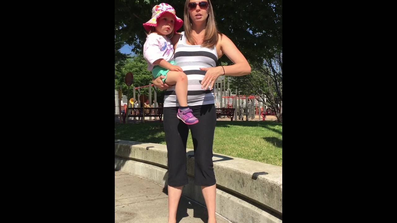 04fa0a1f59a How to pick up and carry your child to save your back - YouTube