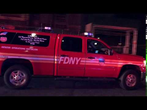 FDNY RESCUE OPERATIONS CHIEF, SHOWING ME SOME LOVE WITH A WAVE, WHILE TAKING UP FROM 2ND ALARM FIRE.