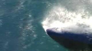 High speed wave piercing catamaran