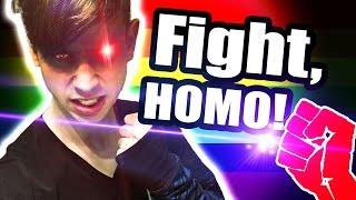 Kämpf, du Homo! [#KurzVorNacht]