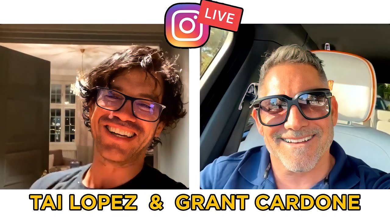 Live From Sweden: Grant Cardone & Tai Lopez
