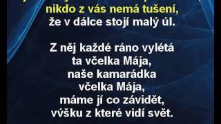 Karel Gott - Včelka Mája (karaoke KLIP)
